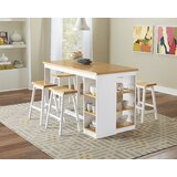 Espanola 5 - Piece Counter Height Dining Set by Darby Home Co