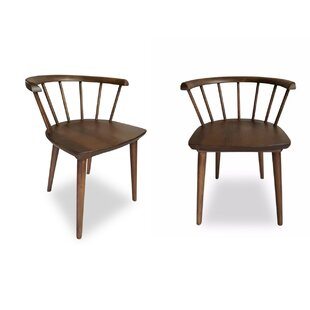 Ashcroft Imports Mabel Solid Wood Dining Chair (Set of 2)
