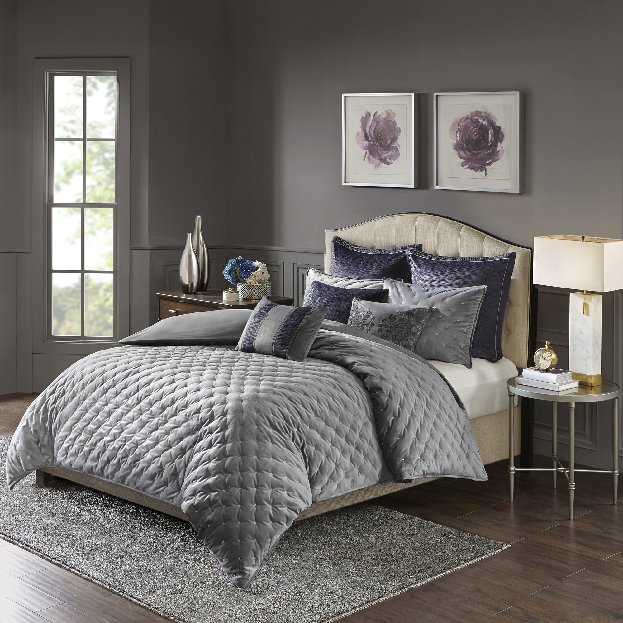 Madison Park Signature Sophisticate 8 Piece Comforter Set Reviews Wayfair