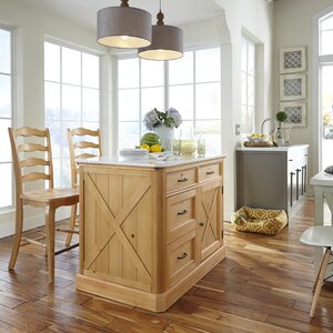 Country Lodge Kitchen Island Set