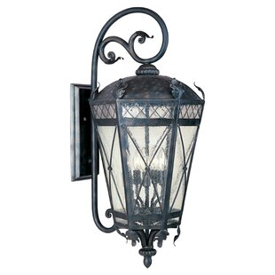 Ivers 3-Light Outdoor Wall Lantern by Astoria Grand
