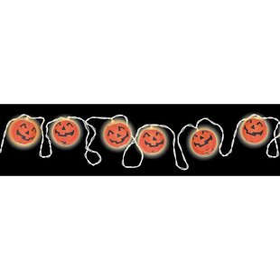 Amscan Halloween Pumpkin Lantern 100 Light String Lighting