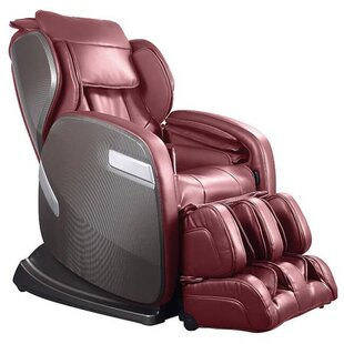 Genial Active Supertrac Faux Leather Zero Gravity Reclining Massage Chair