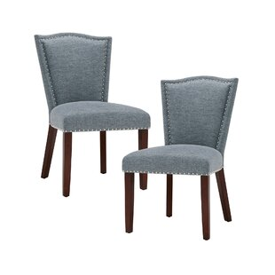 Affordable Newville Upholstered Dining Chair (Set of 2) (Set of 2) by Darby Home Co