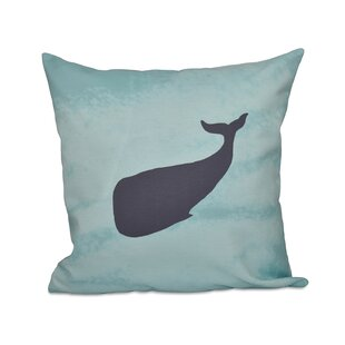 Decorative Whale Throw Pillow