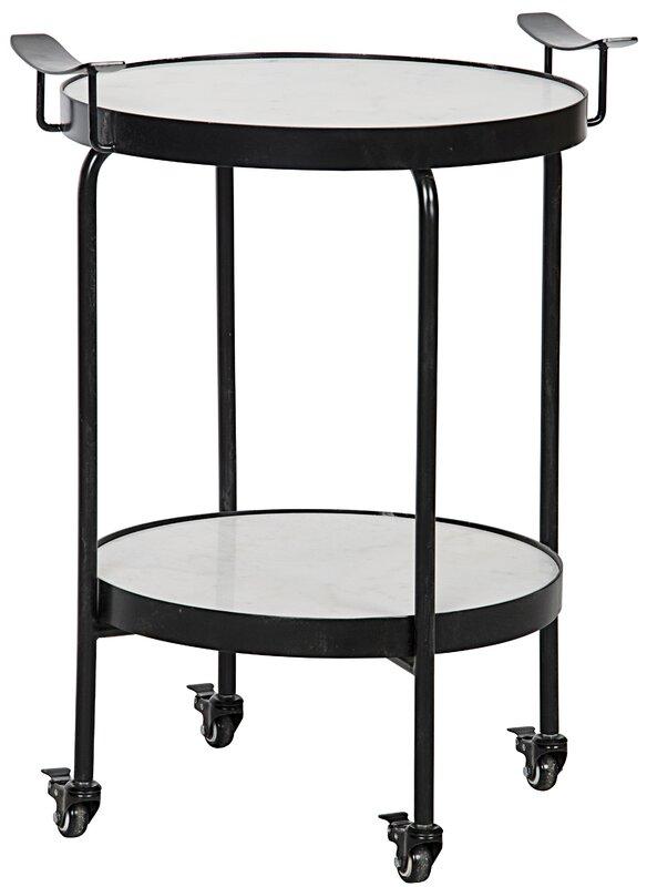 Black Tray Table - Shop Drew's Honeymoon House {Jonathan's Guest Suite} #blacksidetable #DrewHoneymoonHouse #PropertyBrothers #mobilesidetable
