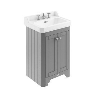 Review 595mm Free-Standing Vanity Unit