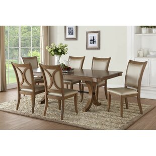 Visconti 7 Piece Extendable Dining Set by Ophelia & Co.