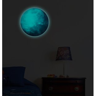 Earth Glow In The Dark Wall Sticker