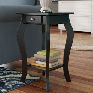 Rockhill Square End Table with Storage by Charlton Home