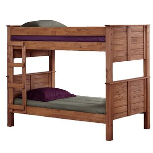 Cissell Twin Over Twin Post Bunk Bed