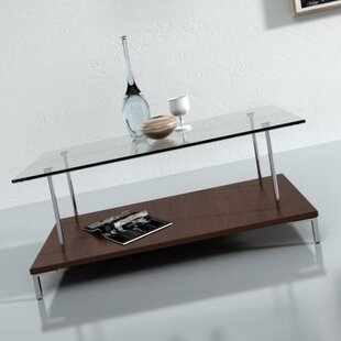 McKenney Glass Top Coffee Table Wade Logan