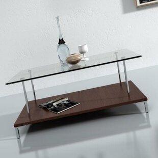 Wonderful McKenney Glass Top Coffee Table Wade Logan