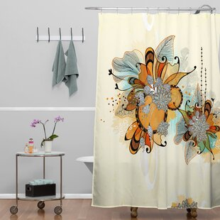 Herkimer Sunset Shower Curtain by Latitude Run