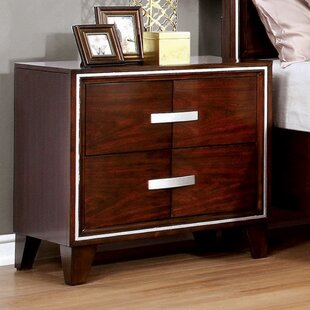 Mexia 2 Drawer Nightstand by Ivy Bronx