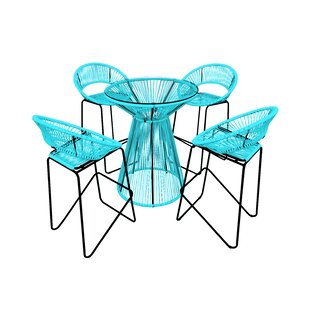 Harmonia Living Acapulco 5 Piece Bar Set