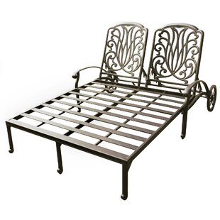 Three Posts Lebanon Double Chaise Lounge Frame