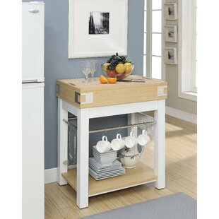 Stanford Kitchen Island by August Grove