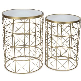 Phil 2 Piece Nesting Tables by Wrought Studio