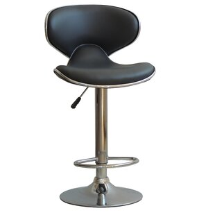 Husby Adjustable Height Swivel Bar Stool ..