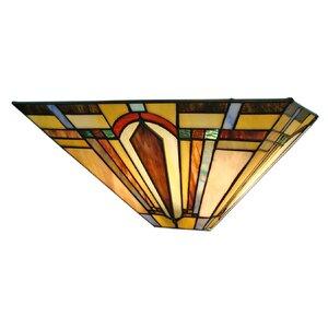 Wheaton 2-Light Tiffany Wall Sconce