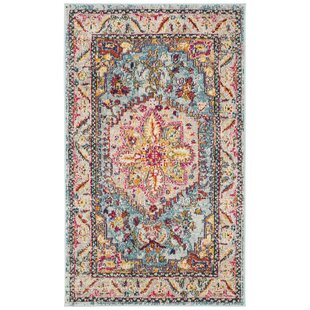 Best Reviews Dostie Gray/Yellow Area Rug ByBungalow Rose