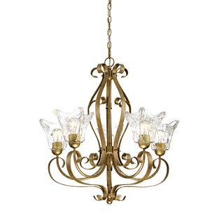 Fleur De Lis Living Whaley 5-Light Shaded Chandelier