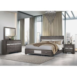 Cave Spring Storage Panel Bed by Everly Quinn