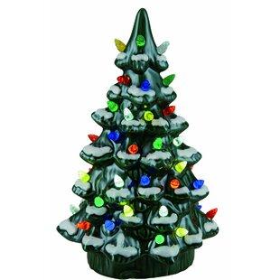 walter ceramic light up nostalgic tree