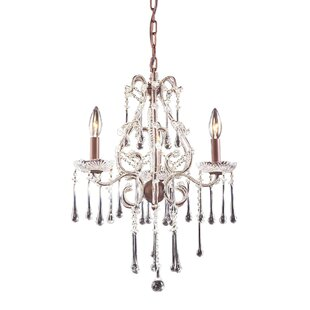 Rosdorf Park Driffield Traditional 3-Light Candle Style Chandelier