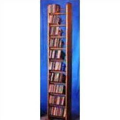 260 CD Backless Dowel Multimedia Storage Rack By Rebrilliant