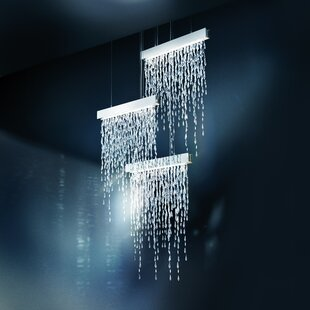 Swarovski Crystalline Icicles 15-Light Crystal Chandelier