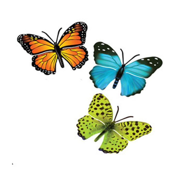 Awesome 3 Piece Butterfly Wall Decor Set