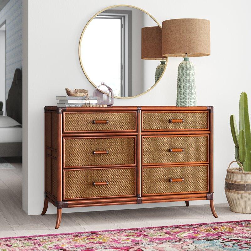 Lamont 6 Drawer Double Dresser
