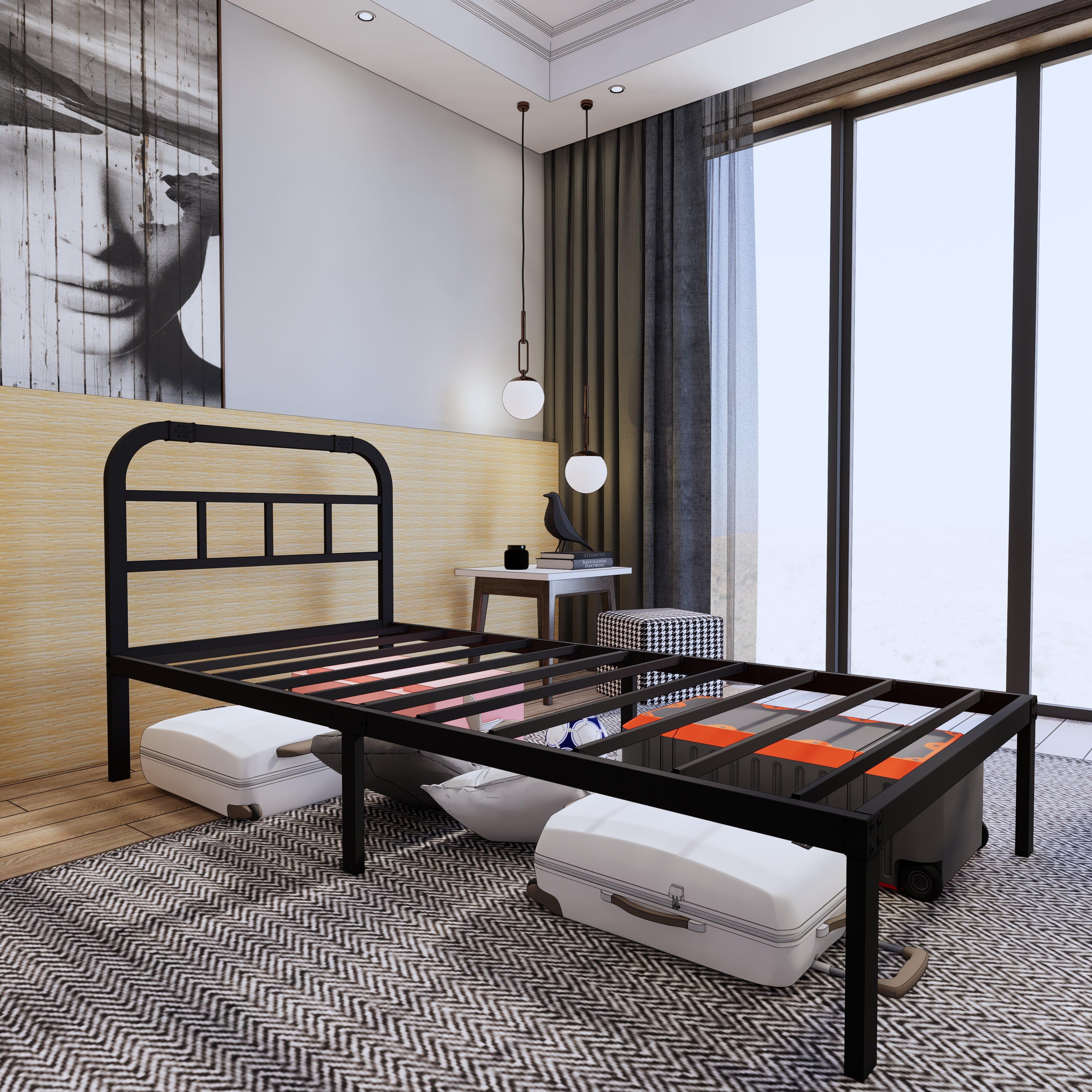 Weisman Extra-Long Twin Platform Bed