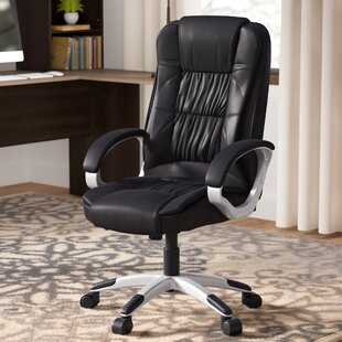 Stapleford Ergonomic Executive Chair by Andover Mills Office Furniture