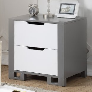 Best Reviews Oriana 2 Drawer Nightstand by Mack & Milo Reviews (2019) & Buyer's Guide