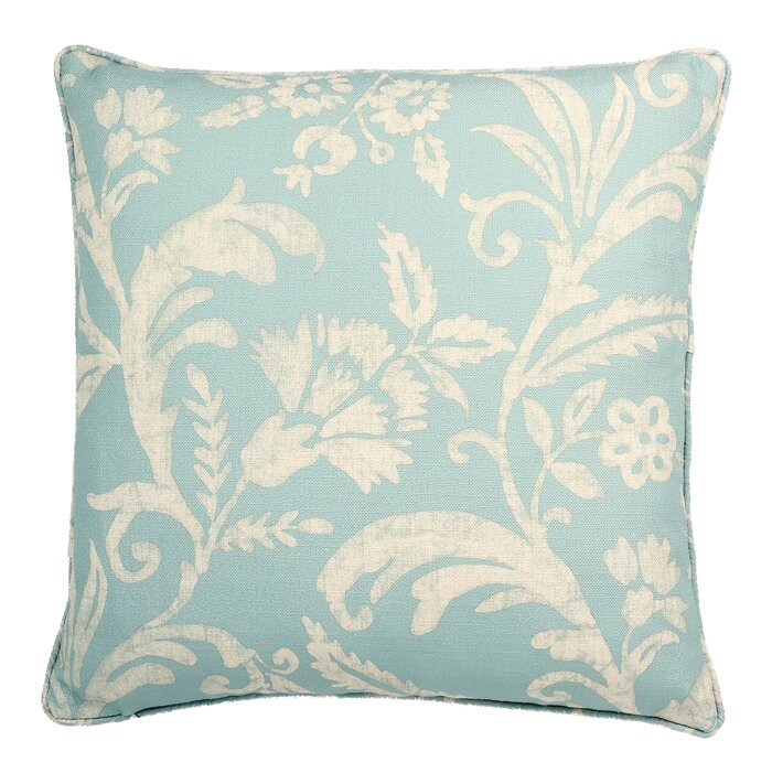 Provincetown Floral Pattern Printed Throw Pillow