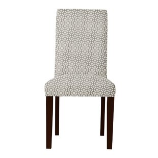 Beachwood Square Intertwined Parsons Chair (Set of 2) by Latitude Run