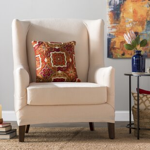 enjoy complete phew wingback vintage slipcover create chair finally for