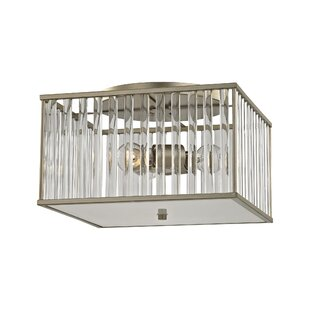 Bently 3-Light Semi Flush Mount by Darby Home Co
