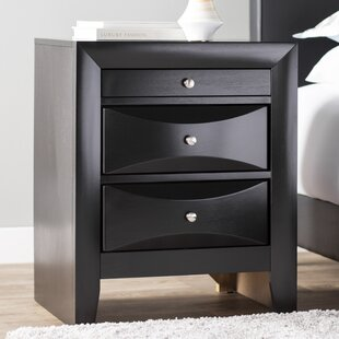 Reviews Medford 3 Drawer Nightstand By Latitude Run