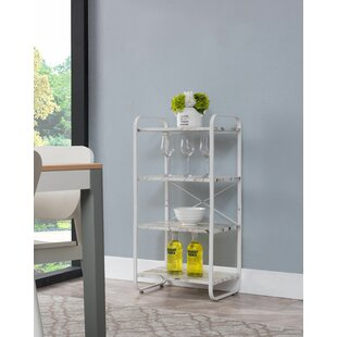 Marlborough Transitional Steel Baker's Rack by Wrought Studio