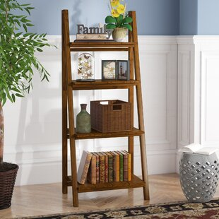 Bordelon Slatted Ladder Bookcase Andover Mills