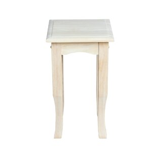 Read Reviews Lynn Wood End Table By Mistana