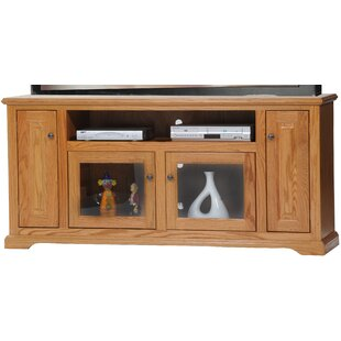 Spoffo Solid Wood TV Stand for TVs up to 75 by Alcott Hill