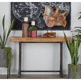 Boston Metal Wood Console Table byBreakwater Bay