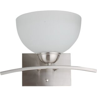 Compare prices Mickayla 1-Light Wall Sconce By Whitfield Lighting