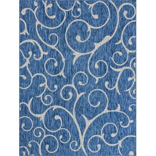 Cowling Blue/Beige Indoor/Outdoor Area Rug