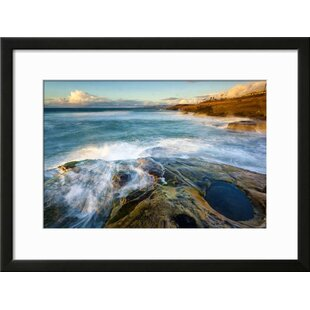 u0027Rock Formations Along the Coastline Near Sunset Cliffs San Diego Cau0027 Framed Photographic Print  sc 1 st  Wayfair & San Diego Wall Art Youu0027ll Love | Wayfair